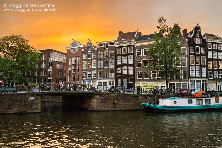 Tramonti ad Amsterdam
