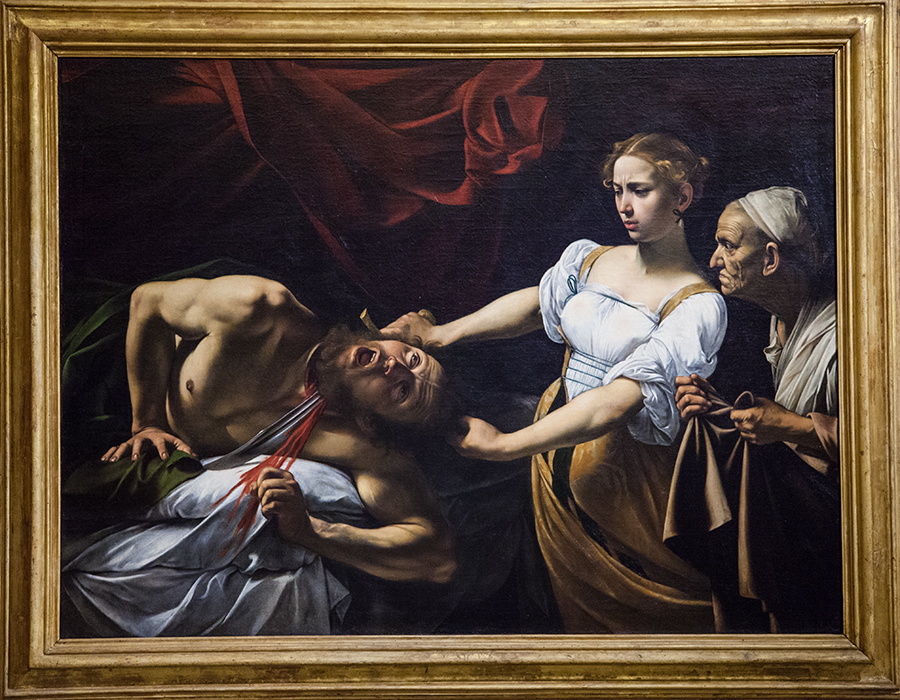 Giuditta e Olofeme - Caravaggio