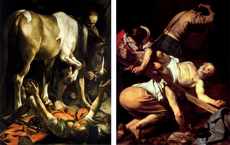 Santa Maria del Popolo - Caravaggio