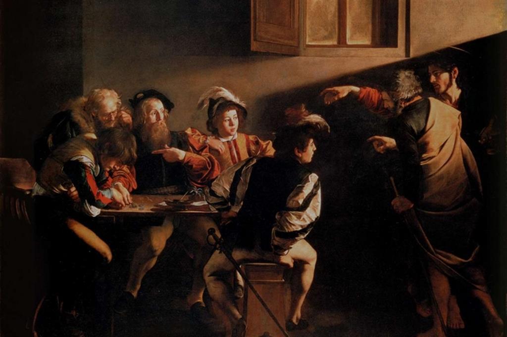 Vocazione di S Matteo - Caravaggio