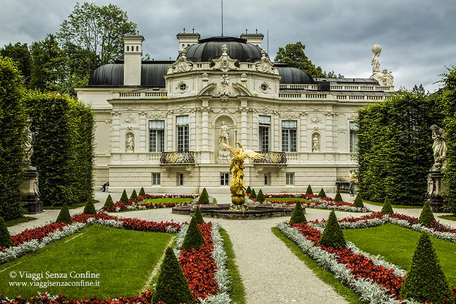 Castello di Linderhof - giardino