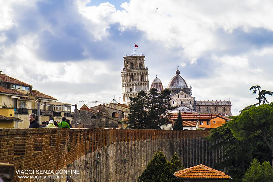 Cosa vedere a Pisa: Le Antiche Mura di Pisa