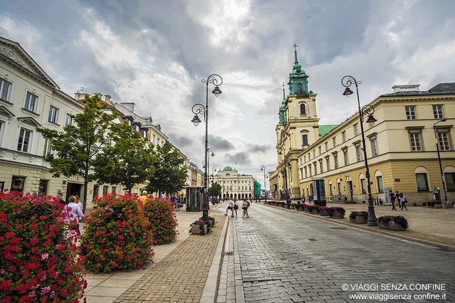 Cosa vedere a Varsavia: strada reale