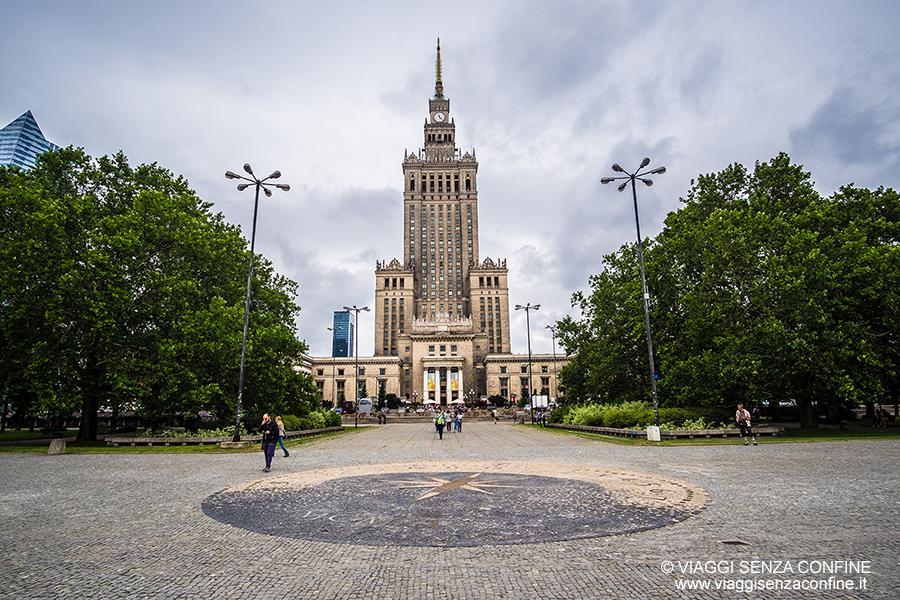 Cosa vedere a Varsavia: Palazzo della Cultura