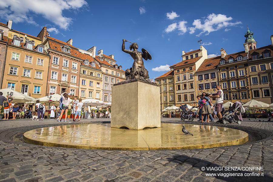 Cosa vedere a Varsavia: (Rynek Starego Miasta)
