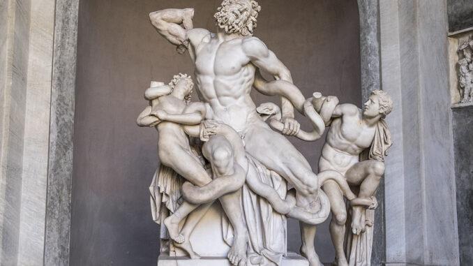 Laocoonte Musei Vaticani
