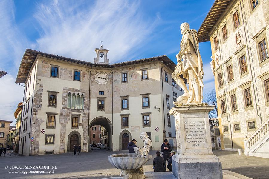 Visitare Pisa a piedi