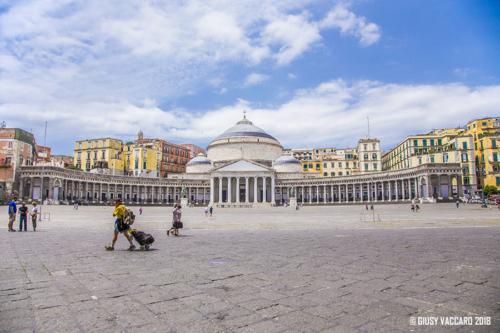 Cosa vedere a Napoli - Piazza del Plabiscito