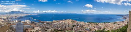 Panoramica Napoli dall'alto