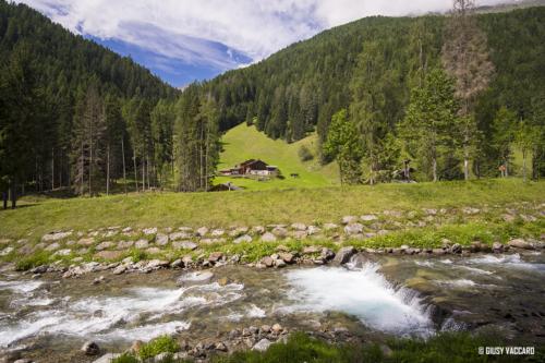 Val di Rabbi - Sentiero per cascata Saent